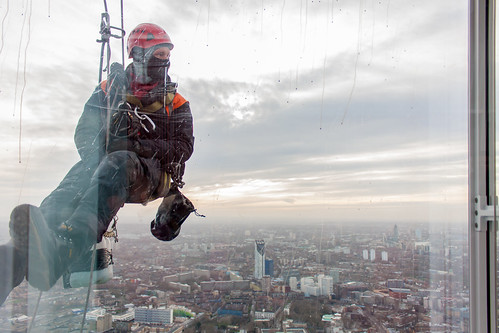 A window cleaner and south London