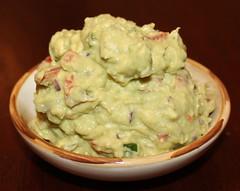 produce(0.0), dip(1.0), food(1.0), dish(1.0), guacamole(1.0), cuisine(1.0), potato salad(1.0),