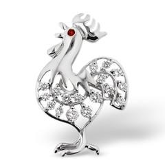 animal, animal figure, rooster, bird,
