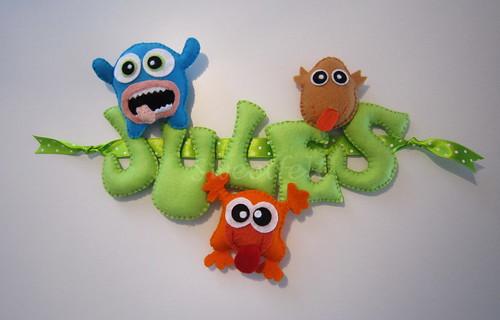 ♥♥♥ Jules ... by sweetfelt \ ideias em feltro