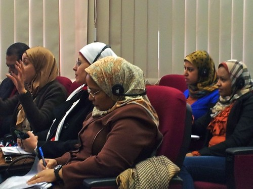 Training for Egyptian Journalists