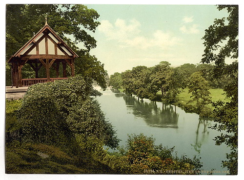 [View on the Dee, Chester, England]  (LOC)