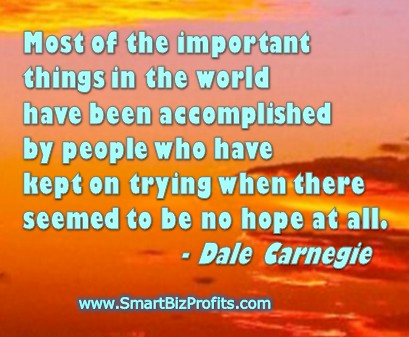 Carnegie Dale Inspirational Quotes
