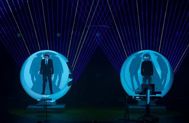 Pet Shop Boys perform at the Royal Opera House © Ken McKay