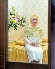Indonesian Muslim Javanese bride prepare for siraman ceremony. Wedding photo for @dzikrinaf & @galih.edy at Sleman Yogyakarta. Foto wedding by @poetrafoto, http://wedding.poetrafoto.com  Follow IG: @poetrafoto for more wedding photos update! Thank you :ki