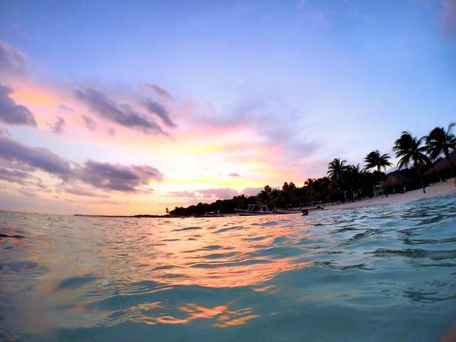 Riviera Maya Mexico, a place where you can feel peace and quiet.   /  Riviera Maya Mexico, un lugar donde se respira paz y tranquilidad.     #GoPro #GoProMx #GoProTravel #PhotoOfTheDAy #InstaGood #Me #México #PicOfTheDay #InspiredByYou #BeAHero #GoProHero