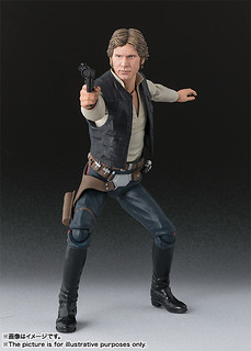 S.H. Figuarts 《星際大戰:曙光乍現》韓索羅 《Star Wars: A New Hope》Han Solo
