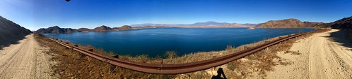 diamondvalleylake hemet california biking lake trail iphonephotography iphoneography 2016 path pathway water reservoir wideangle panorama panoramic