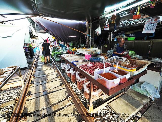 美功鐵道市場 Maeklong Railway Market 泰國自由行 40