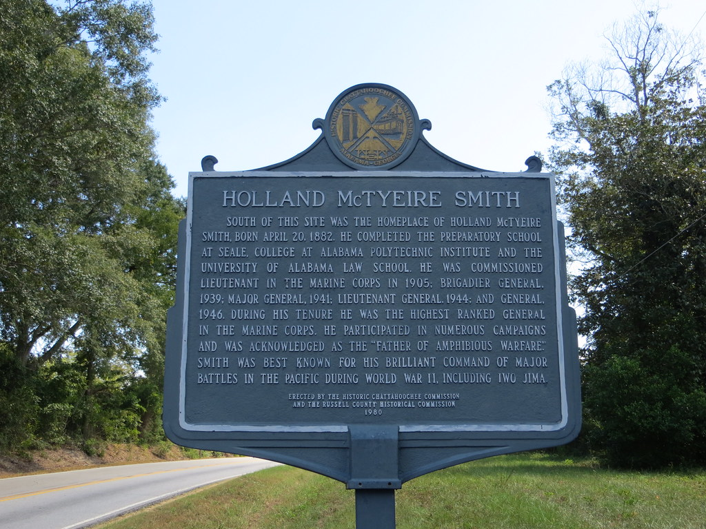 Alabama russell county hatchechubbee - Holand Mctyeire Smith Marker Obverse Al