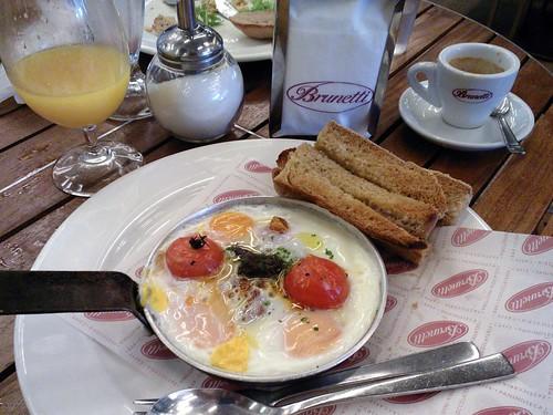 Italian Pan Eggs
