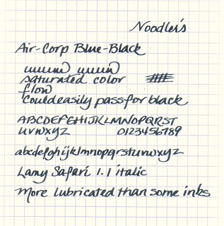 Noodler's Air-Corp Blue-Black Ink
