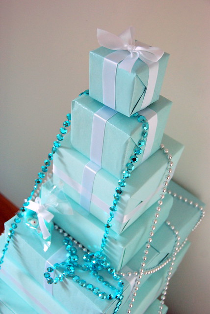 Tiffany box Christmas tree