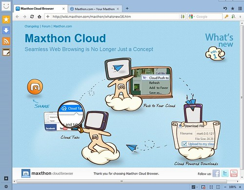 Скачать Maxthon Cloud Browser 4