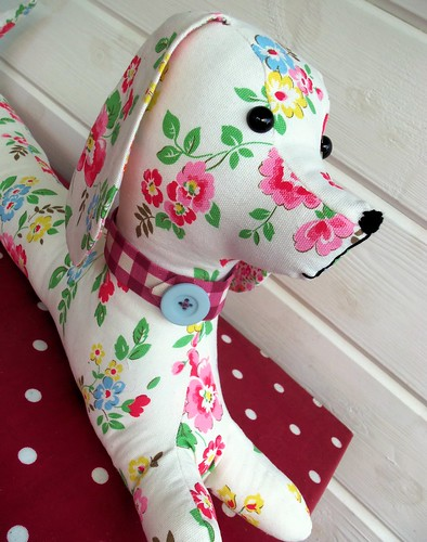 Daisy the Draught Excluder Dog