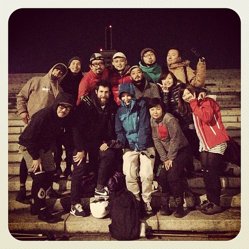 10th, Dec. 2012 at Komazawa park / THBP with Mat & Therese