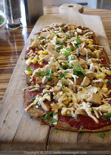 Vegan BBQ Flatbread
