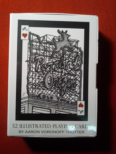 Illustrated Portland Playing Cards