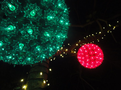 Balls of Christmas light