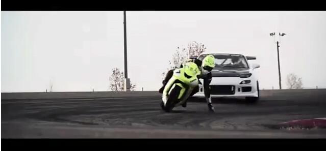 bike vs sport car