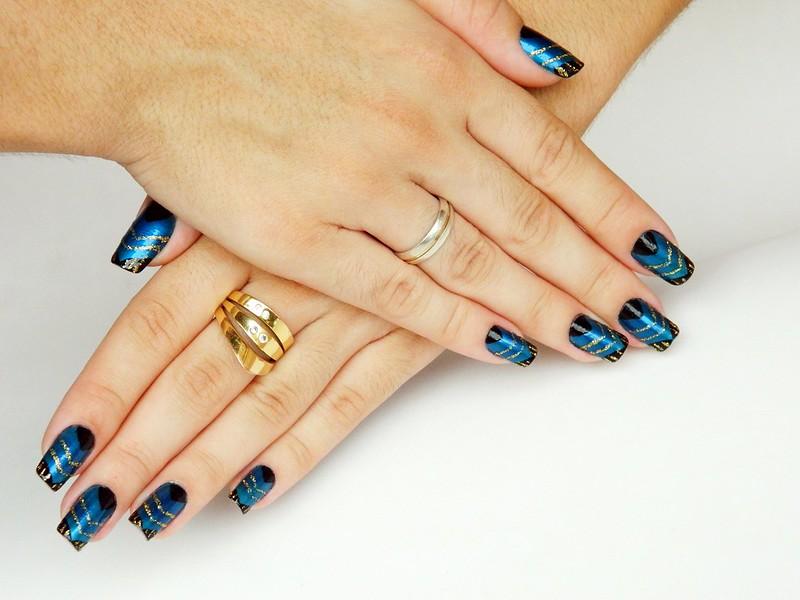 nail art juliana leite de unhas feitas azulcrination decoradas 012