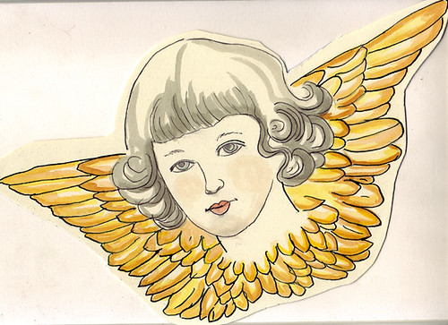 Engelchen / Little Angel by Inky's Journal