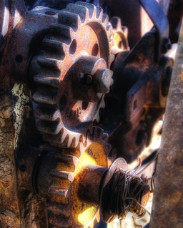 Antique Plow Gearing