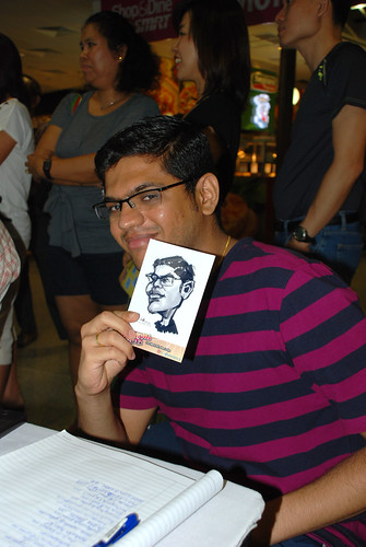 digital live caricature sketching for iCarnival (photos) - Day 2 - 65