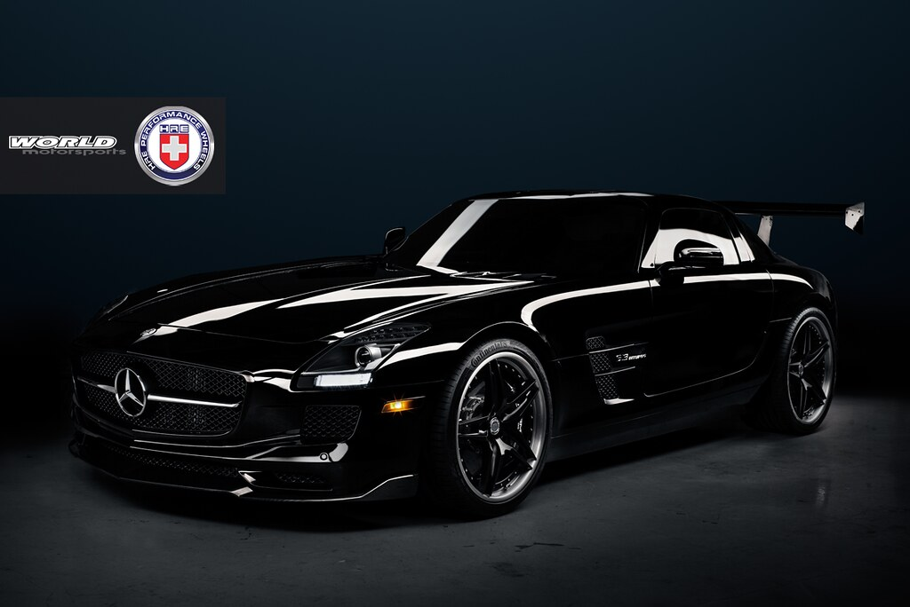 NEW HRE S107 on Twin Turbo SLS AMG from WOrld Motorsports