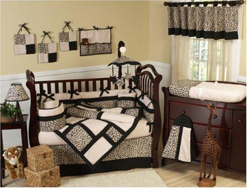 Elegant Animal print Safari Jungle Baby Boy or Girl Unisex Neutral Bedding
