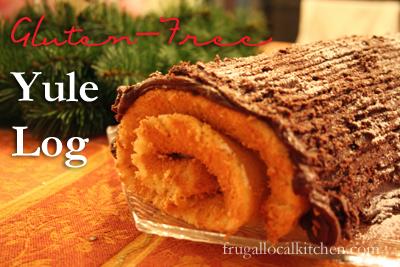 Gluten Free Yule Log