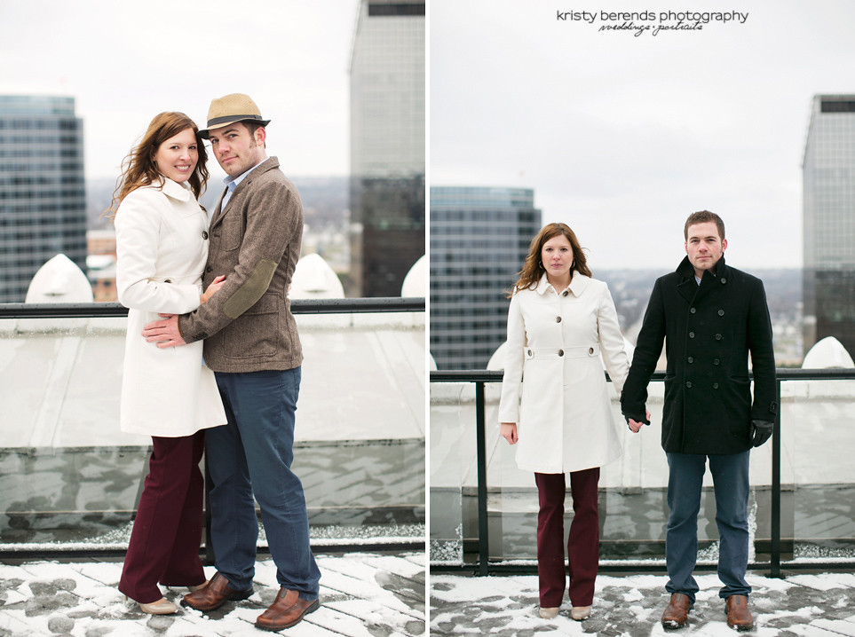 Engagement Photos Downtown Grand Rapids