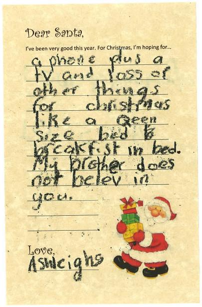 Santa Letters 2