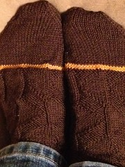 DIY gold toe socks