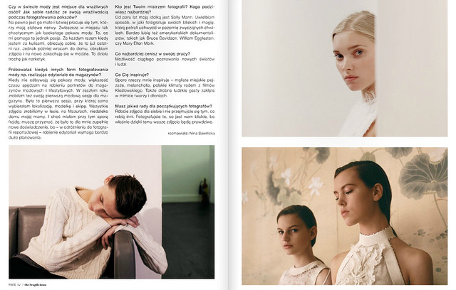 There is a little interview with me in polish magazine Melba - www.melbamagazine.com