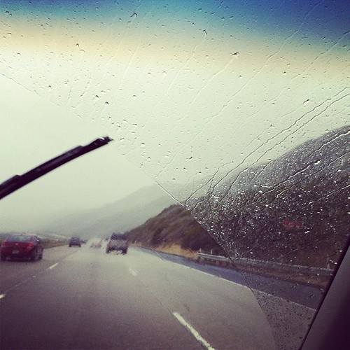 Rain in Southern California. Heading to Carpinteria!