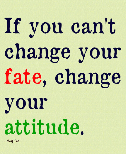 how to change your attitude quickly