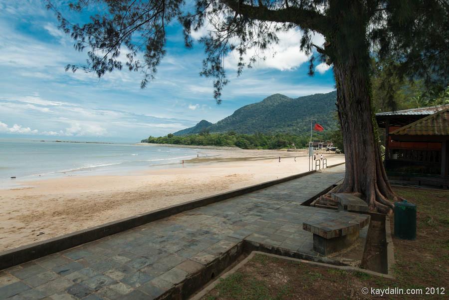 дамай пляж, борнео