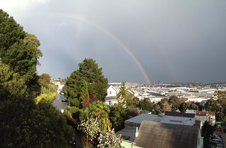 Rainbow from Bernal