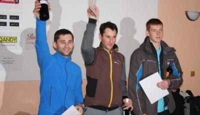 První ročník Předvánočního krosu v Tetčicích vyhráli Strnad a Vejrostová