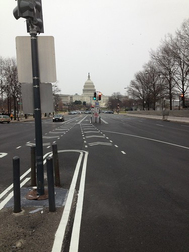 Pennsylvania avenue cycle track