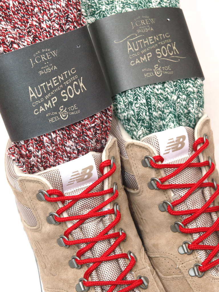 New Balance for J.Crew / H710 Rainier Hiker Boots