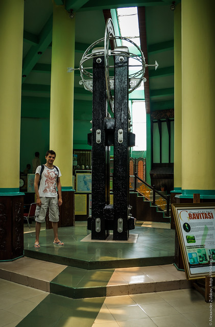 Экватор на острове Понтианак