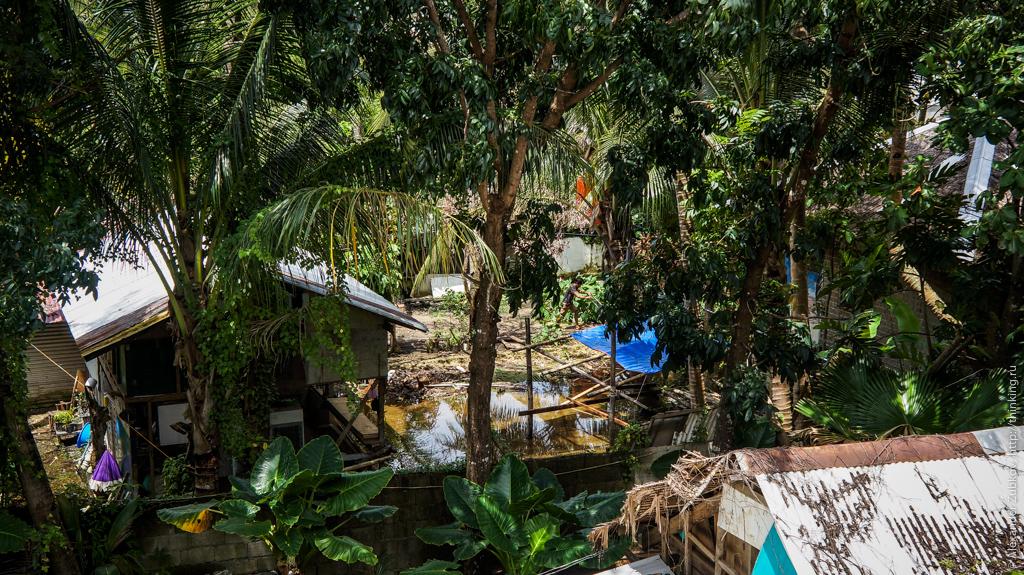 Местный колорит на острове Боракай, Филиппины
