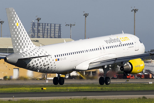 Un avion de Vueling