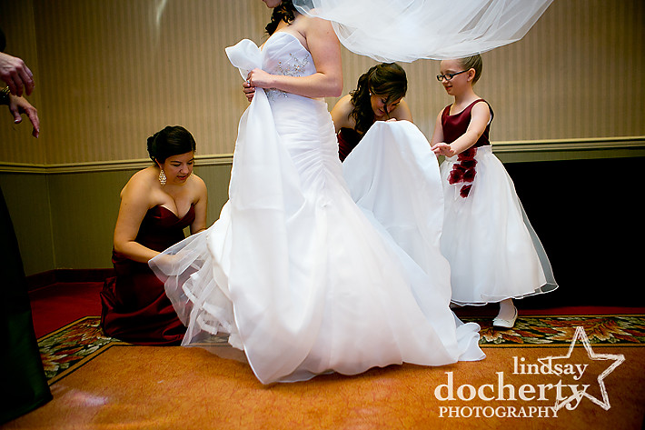 DoubleTree hotel wedding in Philadelphia
