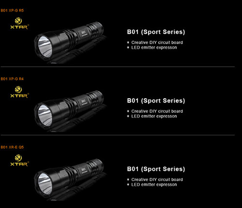 XTAR LED Flashlight, Power LED Flashlight Supplier