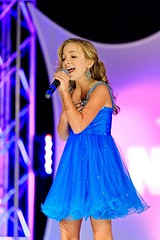 NAMiss California Olivia Jensen competing in Talent