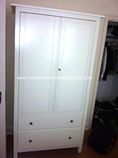 Ikea hemnes wardrobe assembly service in arlington va for Ikea arlington va