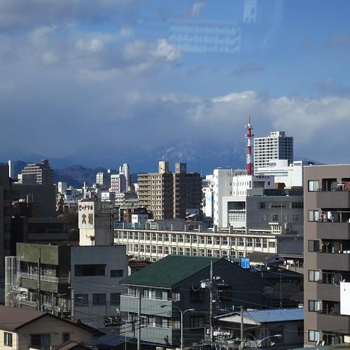 宇都宮…。日光や中禅寺湖のほうは雨か雪になってそう。